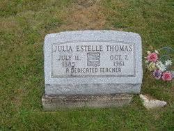 Julia Estelle Wolf Thomas (1885-1961) - Find A Grave Memorial