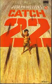 joseph er s uk edition of catch 22 published by corgi in 1970 cover book