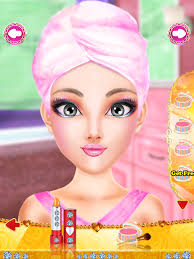 fashion doll doll games makeup and dress up for kids screenshot 6
