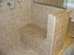 retiling shower tiling shower and seat medium re tiling a shower stall floor