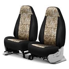 coverking csc2pd07rm1069 digital 1st row camo sand custom seat covers