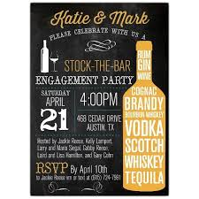 Stock+The+Bar+Typography+Engagement+Party+Invitations | Engagement party  invitations, Engagement party, Engagement party wine