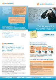 bare bones marketing brochure design for marketing campaign bare brochure for easy online recruitment by bare bones marketing