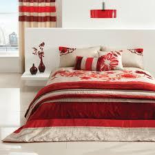 red velvet and sequin king size duvet set 230 x 220 cm