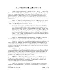 Property Management Agreements 24 Beautiful Letter Agreement Versus Contract Images Complete 22