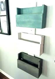 Wall Mount Mail Holder Letter Mounted Amazing Organizer