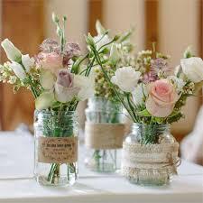 Mason Jar Table Decorations Wedding 100 Mason Jar Ideas North West Brides 20