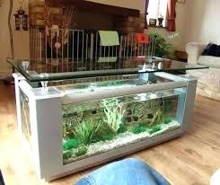 fish aquarium coffee table tank uk diy