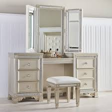 diy bedroom furniture ideas. Fairfax Home Collections Tiffany Vanity With Mirror Suitcase Nightstand Diy Bedroom Ideas Ultimate Creative Makeup Tables Furniture T