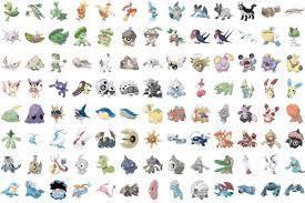 Pokémon Go Gen 3 - Liste mit allen neuen Pokémon und ihren Werten •  Eurogamer.de