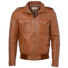 leather jacket cognac app london