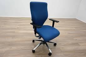 blue task chair. Orangebox X10 Blue Fabric Office Task Chairs Chair O