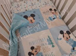 disney mickey mouse bedding blanket or