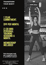 personal training membership special