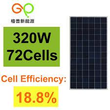 330W <b>TUV</b> IEC61215 Poly <b>Solar Panel</b>