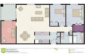 Bedroom Clipart Floor Plan  Pencil And In Color Bedroom Clipart Furniture Clipart For Floor Plans