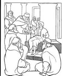 Small Picture Jesus Teaching In The Temple Coloring Page Bible coloring pages