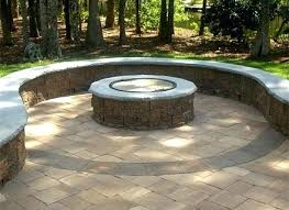 cheap patio paver ideas. Paver Fire Pit Kit Patio With Outdoor Ideas Cheap P