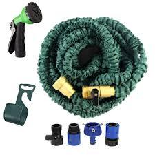 100ft garden hose. 2016 NEW Magic Garden Hose 100ft Flexible Expandable Reels+spray Gun Water