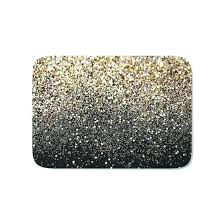 black bathroom rug set black bathroom mats black and gold bath mat doubtful sparkle by glam