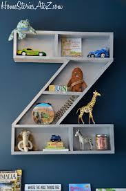 letter z shelf