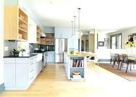 kitchen diner lighting. Wonderful Kitchen Kitchen Diner Lighting West Elm Design Ideas Contemporary With Breakfast  Bar Island Open Plan Floor Large Throughout G