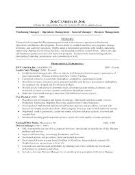 Purchasing Resumes Beauteous Procurement Resume Sample Sample Format Resume