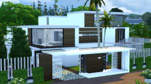 Small Picture BEST MODERN HOUSE The Sims 4 Villa Mansion YouTube