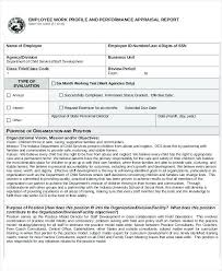 Sample Staff Evaluation Stunning Full Size Of Worksheet Performance Evaluation Report Sample Employee