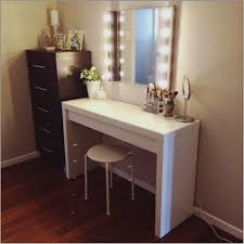 vanity desk with mirror genuine retro bedroom outstanding triple mirror then black makeup vanity