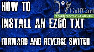 ezgo forward and reverse switch how to install golf cart f and r forward reverse switch club car golf cart at Ezgo Forward Reverse Switch Wiring Diagram