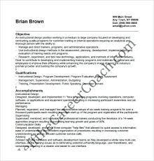 Instructional Designer Resume Delectable Instructional Designer Resume Samples Template Luxury 40 Free Word
