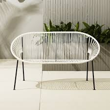 amazing outdoor furniture loveseat home designing inspiration loveseats cb2 cushions glider cover canada patio