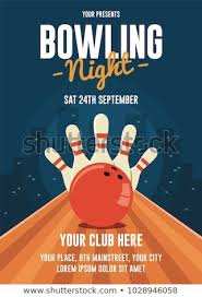 Bowling Event Flyer Template Bowling Night Flyer Template Event Poster Template Flyer