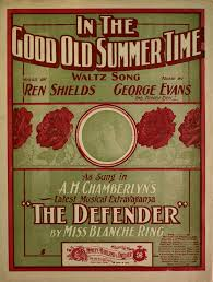 in the good old summer time waltz song