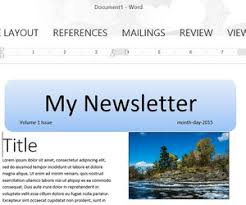 Newsletter In Word How To Make A Newsletter Template In Word Techwalla Com