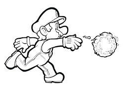Video Game Character Colouring Pages Coloring With Wallpapers