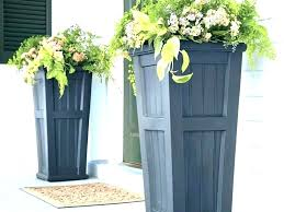 extra large urns tall urn planters garden pots outdoor and commercial black nz u