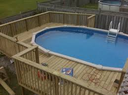 Decks Around Above Ground Swimming Pools Pictures Of Decks Around