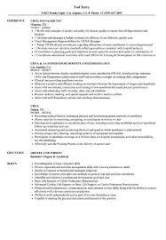 Crna Resume Examples Crna Resume Samples Velvet Jobs 1