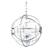 white orb chandelier chrome modern crystal ribbon pendant large size of polished