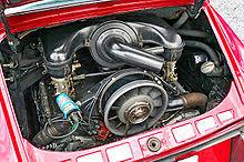 flat six engine engine of a 1966 porsche 911 flat six