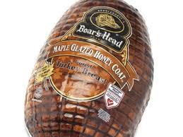 maple glazed honey coat cured turkey t