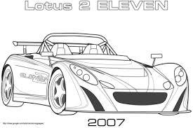 2007 Lotus 2 Eleven Kleurplaat Gratis Kleurplaten Printen