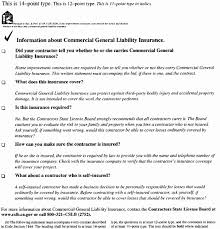 insurance accord form luxury general waiver liability form chief risk officer sample resume