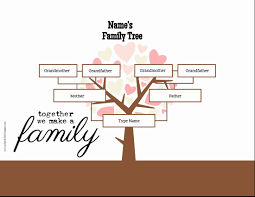 30 Best Of Family Tree Template Online Pictures Awesome Template