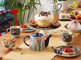 lucy tiffney launches new dining range