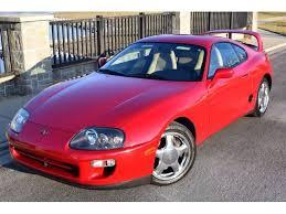 1998 toyota supra twin turbo hatchback 2 door