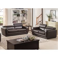 Wayfair Living Room Sets Ac Pacific Calvin Modern 2 Piece Leather Living Room Set Reviews