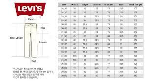 jean size converter levis jeans for women size chart